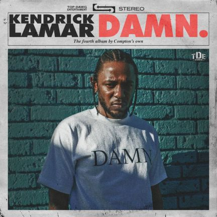 Kendrick Lamar - DAMN. | Best Rap Albums of 2017