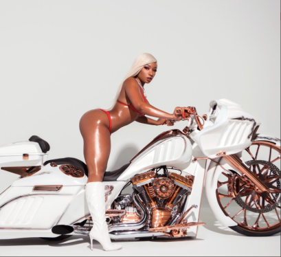Megan Thee Stallion bike top5rapwebsite.com