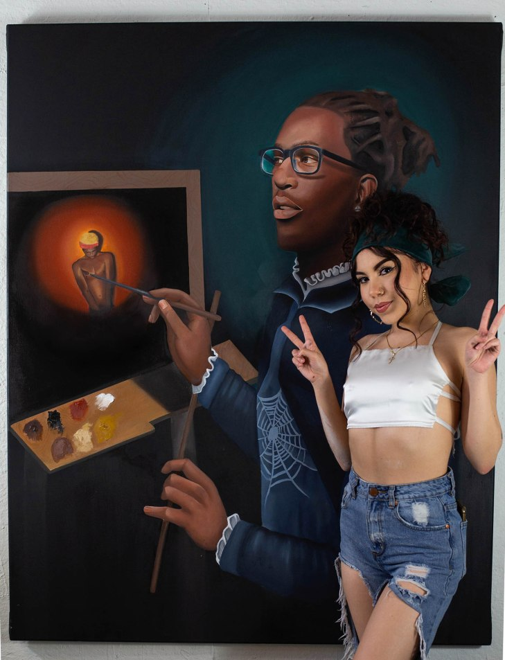 Bunnie young thug tiffany pelmont art
